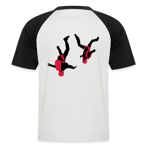 parachutisme Free Fly - T-shirt baseball manches courtes Homme