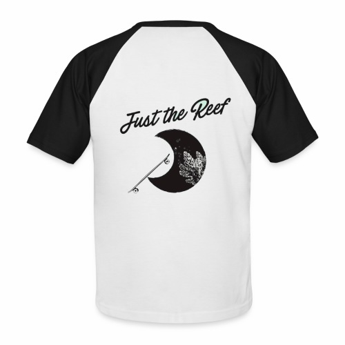 moon just the reef - T-shirt baseball manches courtes Homme