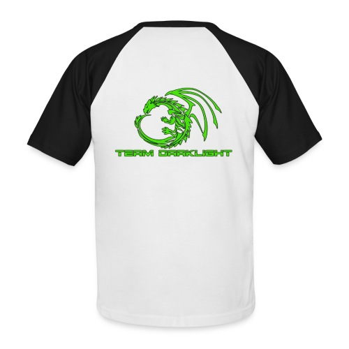 TEAM DARKLIGHT SHOP - Kortærmet herre-baseballshirt