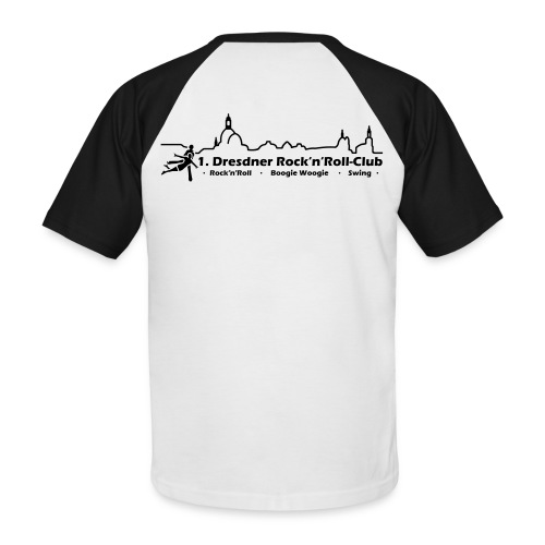 Logo Rock n Roll - Männer Baseball-T-Shirt