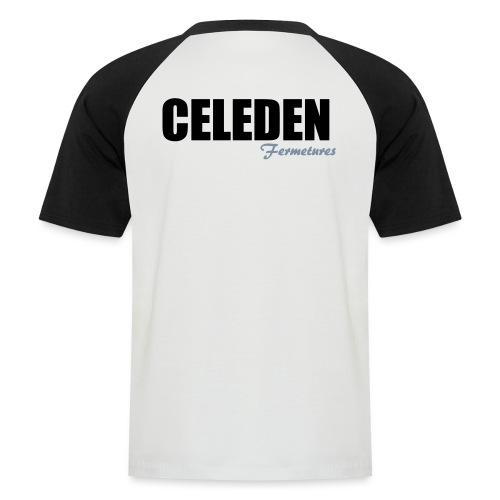 CELEDEN fermetures - T-shirt baseball manches courtes Homme