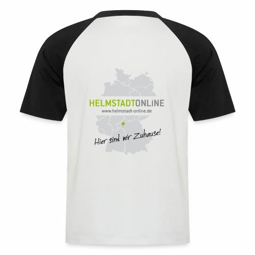 HO Landkarte - Männer Baseball-T-Shirt
