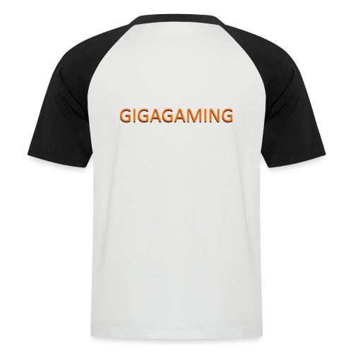GIGAGAMING - Kortærmet herre-baseballshirt