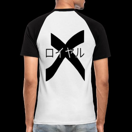 x royal - T-shirt baseball manches courtes Homme