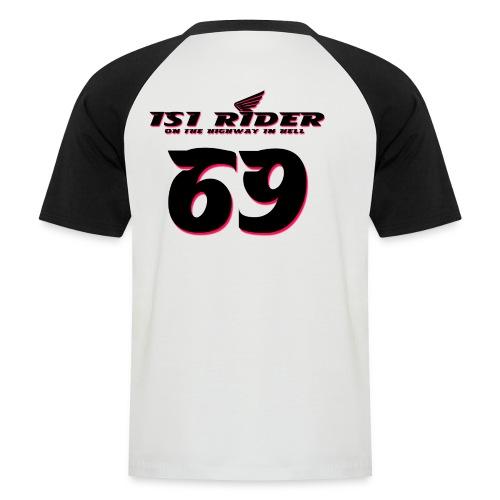 isi rider 2 - Männer Baseball-T-Shirt