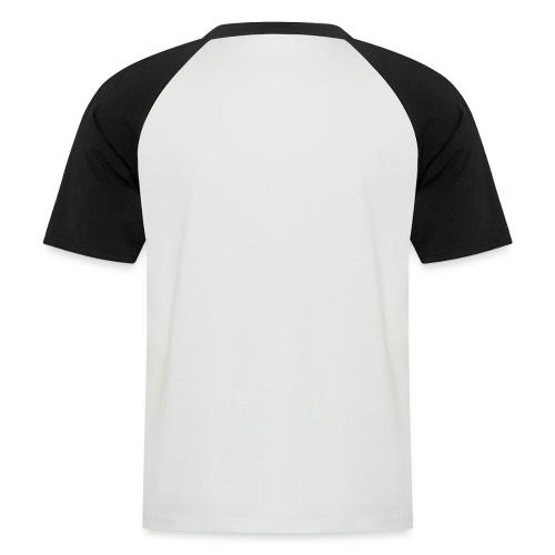 wit logo transparante achtergrond - Mannen baseballshirt korte mouw