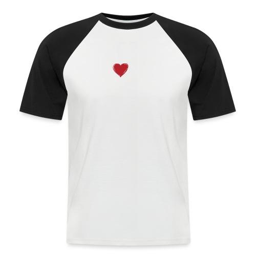 bodylove sponsered by HS - Männer Baseball-T-Shirt