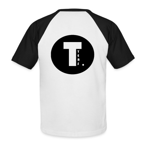 T by Tyers Logo au dos - T-shirt baseball manches courtes Homme