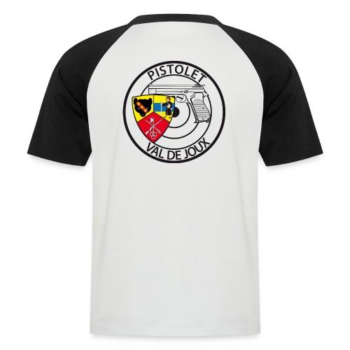 Pistolet Val de Joux - T-shirt baseball manches courtes Homme