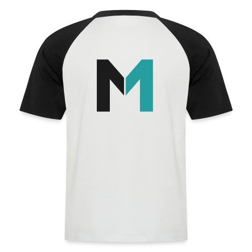 Logo M - Männer Baseball-T-Shirt