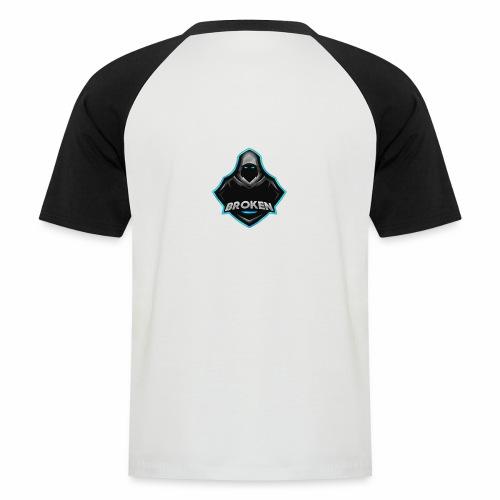 Collection Mascotte │ Br0Ken - T-shirt baseball manches courtes Homme