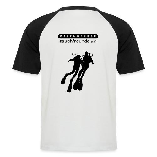 CTF Durchsichtig Vektor - Männer Baseball-T-Shirt