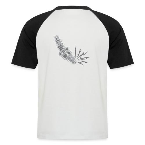 Fehlzünder Kontrast-Pullover - Männer Baseball-T-Shirt
