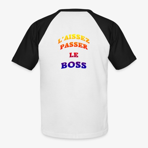Le Boss - T-shirt baseball manches courtes Homme