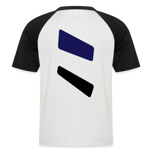 3 strikes triangle - Men's Baseball T-Shirt