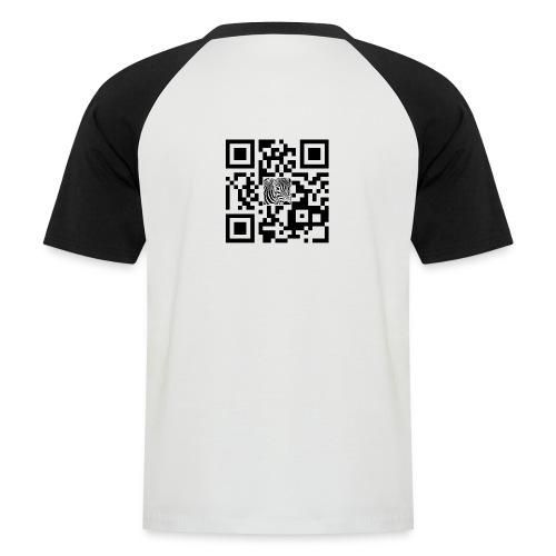 QR Code Schpiedermann - Mannen baseballshirt korte mouw