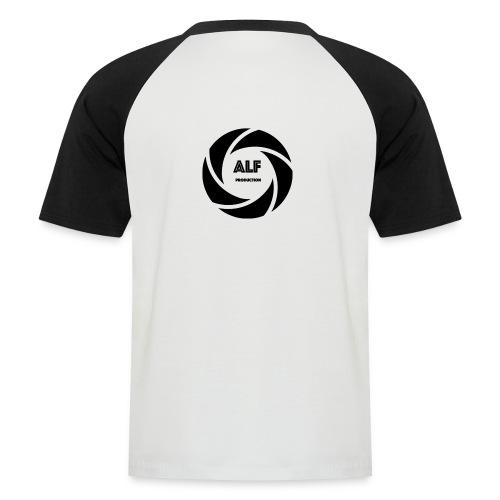 Logo Nero - Maglia da baseball a manica corta da uomo