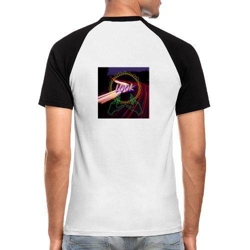 Look - Camiseta béisbol manga corta hombre