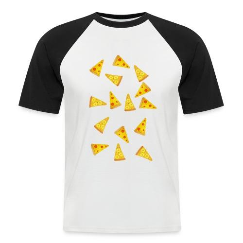 Pizza is Bae - Männer Baseball-T-Shirt