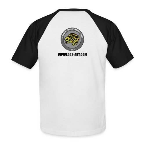 camisola1 - Camiseta béisbol manga corta hombre