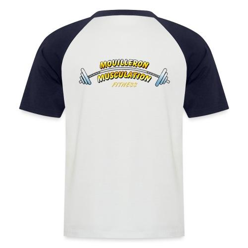 mouilleron muscu logo pour tee shirt 311 - T-shirt baseball manches courtes Homme