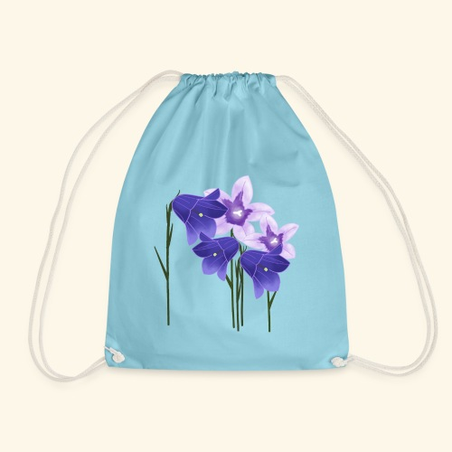 Glockenblumen, Blumen - Turnbeutel