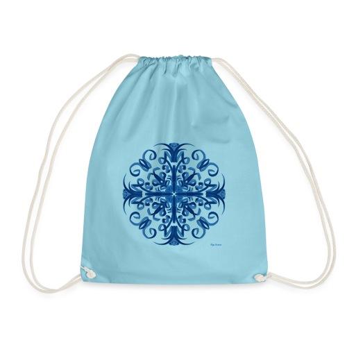 Classic Blue Modo Mandala - Mochila saco