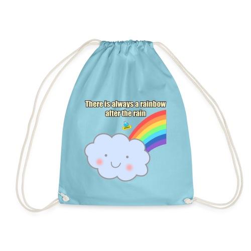 Bubbly! Rainbow - Sacca sportiva