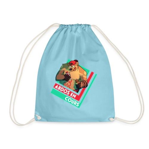 Abs in progress - Drawstring Bag