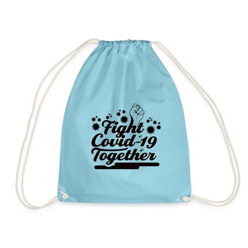 Fight Covid-19 Together Design - Turnbeutel