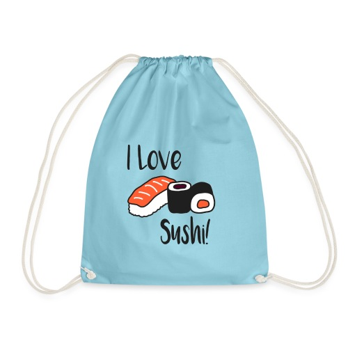 I love Sushi! - Turnbeutel
