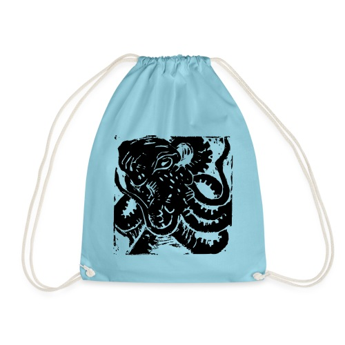 Museum Collection Octopus - Drawstring Bag