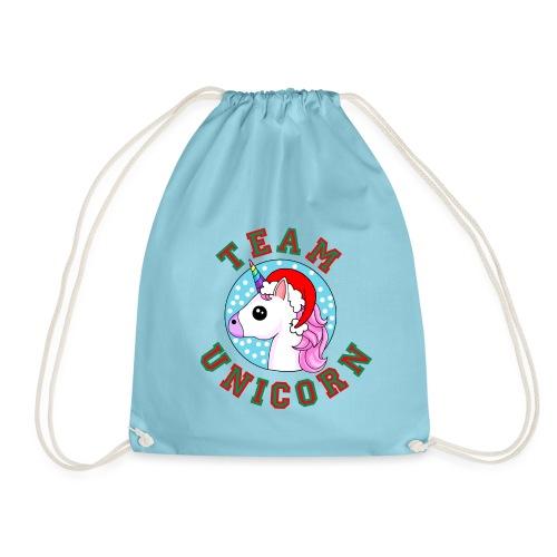 Team Unicorn Christmas - Drawstring Bag