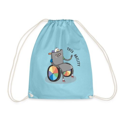 THIS ABILITY - Drawstring Bag