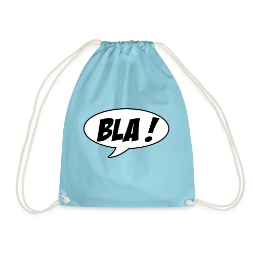 Bla - Drawstring Bag