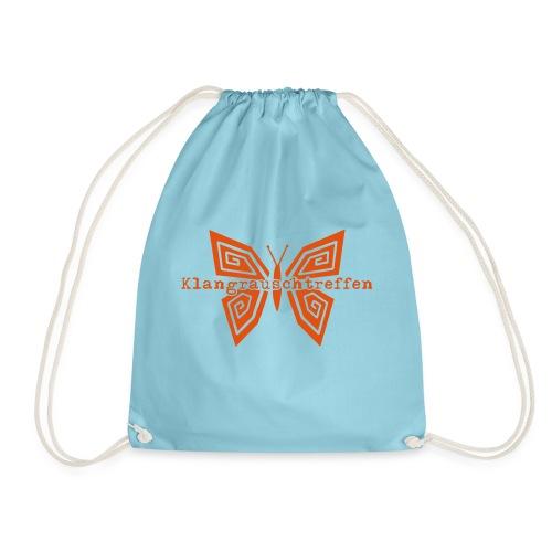 KlangRauschTreffen Schmetterling mit Schrift - Turnbeutel