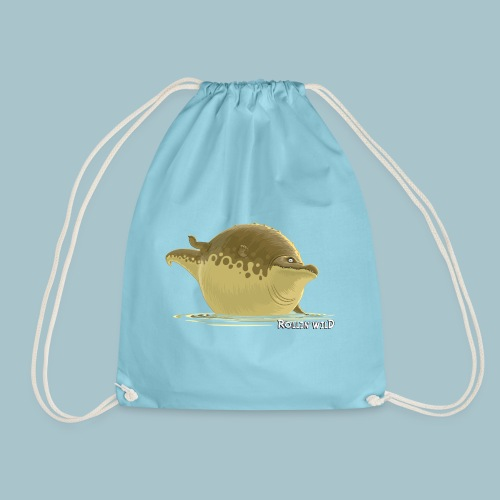 Rollin' Wild - Crocodile - Drawstring Bag