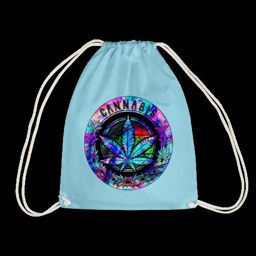 rainbow cannabis (#scheissdrauf) - Turnbeutel