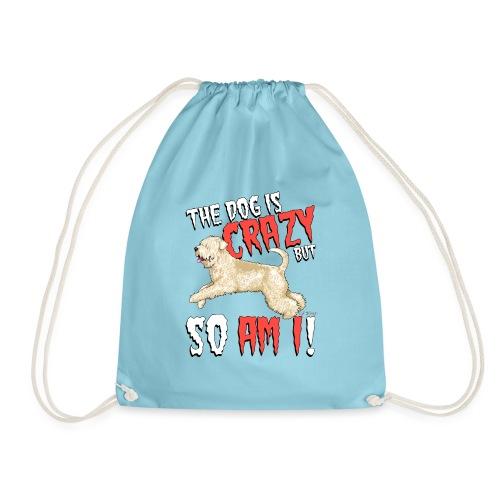 Wheaten Terrier Crazy 2 - Drawstring Bag