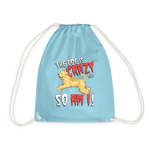 Wheaten Terrier Crazy - Drawstring Bag
