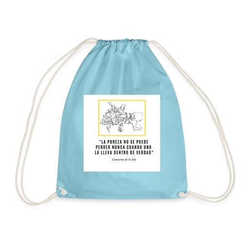 La PUREZA no se puede perder nunca - Drawstring Bag