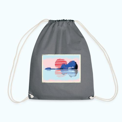 Vintage graffiti - Drawstring Bag