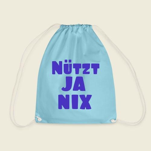Nützt ja nix - typisch ostfriesisch - Turnbeutel