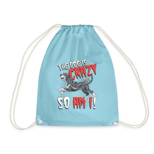 Giant Schnauzer Riesen Crazy - Drawstring Bag