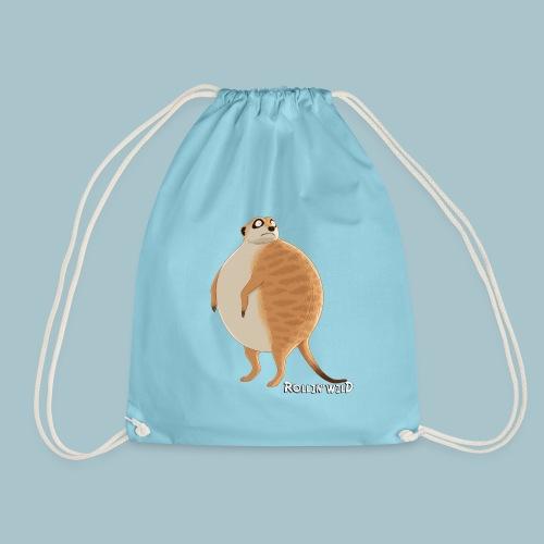 Rollin' Wild - Meerkat - Drawstring Bag