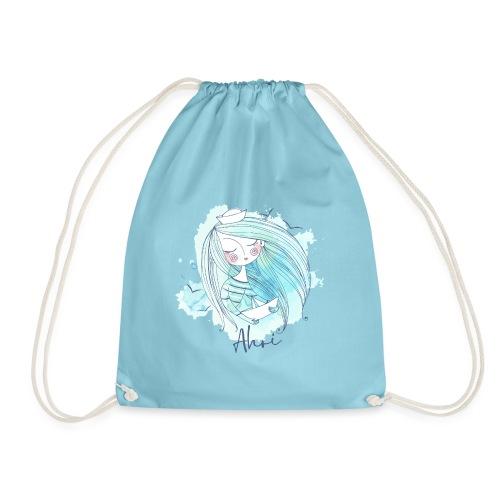 Meermädchen Ahoi - Turnbeutel