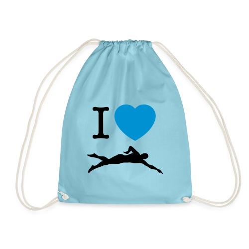 I love swimming - Sacca sportiva