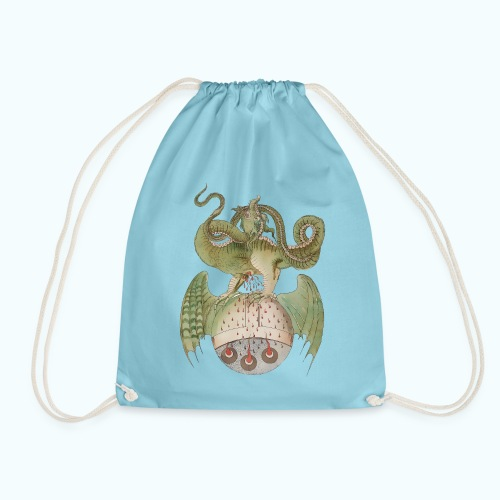 Middle Ages Dragon - Drawstring Bag