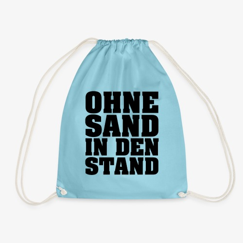 OHNE SAND IN DEN STAND 3 - Turnbeutel