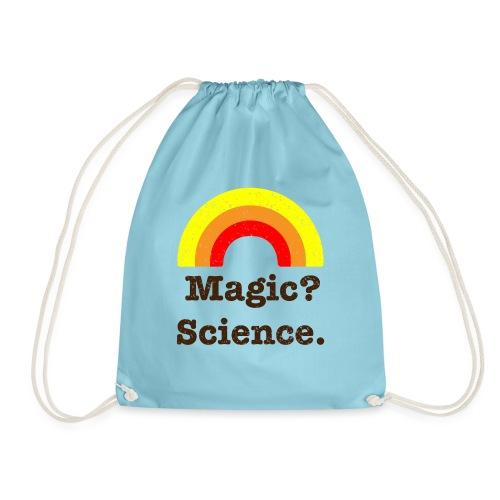 magic? science - Drawstring Bag